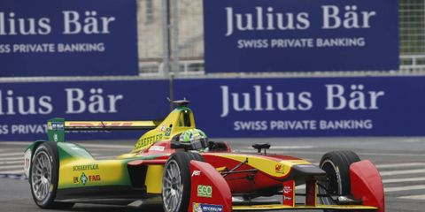 Lucas di Grassi won the inaugural Formula E race, which was held in Beijing.
