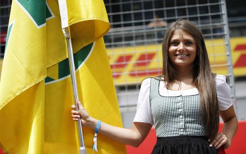 Reports from Austria said that attendance was down for this year's Formula One Austrian Grand Prix. Here's some of what those who stayed at home missed on race day.