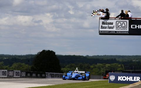 Sights from the IndyCar Series Kohler Grand Prix at Road America, Sunday June 25, 2017