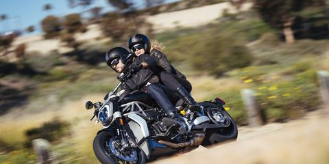 Ducati doubles down on the cruiser market with the XDiavel, an almost-all-new successor to the popular Diavel. It's more sport bike than cruiser, maybe, but it's a Ducati, so you have to expect a little more performance.