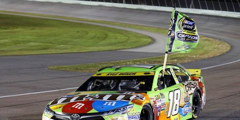 Kyle Busch faced massive adversity en route to his first Sprint Cup championship.