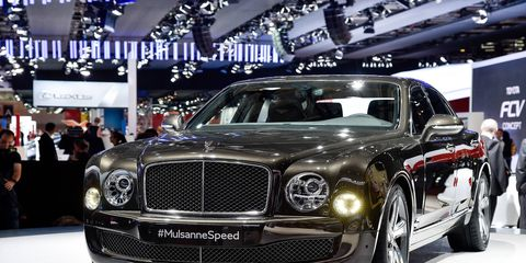 The Bentley Muslanne Speed has enough power to reach 60 mph in just 4.8 seconds, and enough torque to engage in a wide variety of agricultural and industrial tasks.