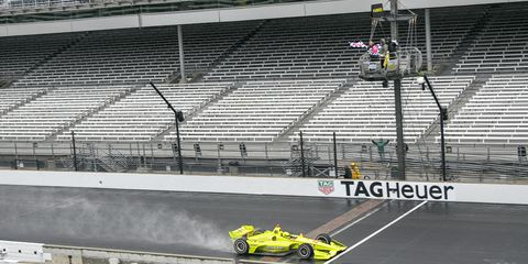 Simon Pagenaud joins Team Penske teammate Will Power as a three-time winner of the IndyCar GP.