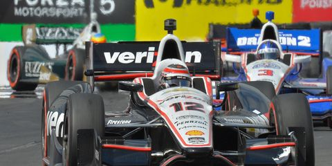 Will Power pilots his Chevrolet Indy car during the 2016 Verizon IndyCar Series season.