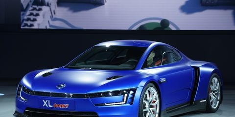 The Volkswagen XL Sport debuted at the Paris Motor Show