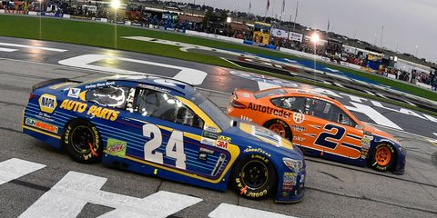 Brad Keselowski (2) and Chase Elliott (24) are both piling up the points in the early part of the NASCAR Cup season.