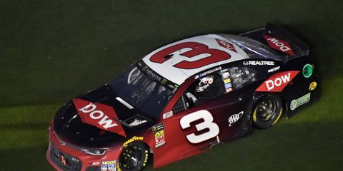 Austin Dillon led only one lap Sunday, but that's all he needed.