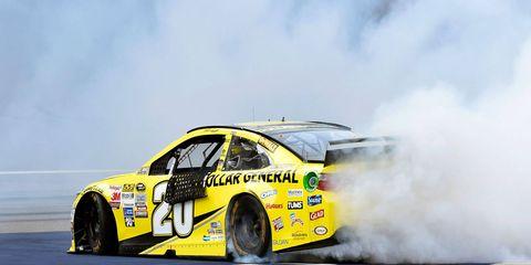 Matt Kenseth won his third race of the NASCAR Sprint Cup Series season on Sunday at Michigan International Speedway.