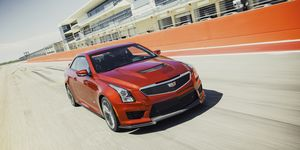 We test the 2016 Cadillac ATS-V on the road and at the Circuit of the Americas race track in Texas.