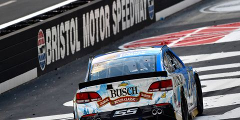The NASCAR Sprint Cup Series field is looking up at Kevin Harvin in the standings after the Chevy driver's win at Bristol.