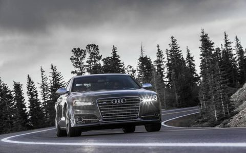 Stepping into the 2015 Audi S8 was like visiting an old friend thanks in part to our long-term S7.