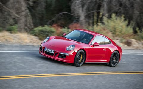 The Porsche 911 Carrera GTS starts at $115,195.