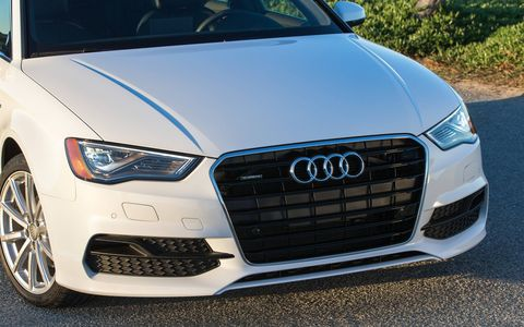 The 2015 Audi A3 2.0 TFSI Premium is equipped with a 2.0-liter turbocharged I4 that pushes out an ample 220 hp with 258 lb-ft of torque.