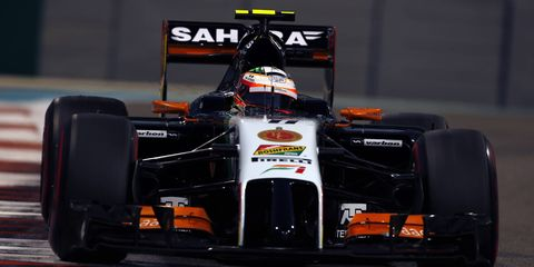 Sergio Perez recently signed an extension with Force India.