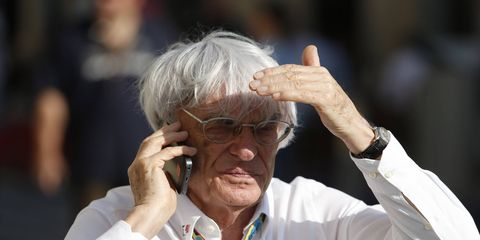 Bernie Ecclestone says the German Grand Prix might be removed from the Formula One schedule.