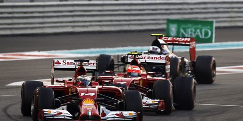 The number of cars on the F1 grid could shrink to less than 16.