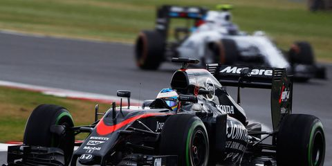 Fernando Alonso has scored just one point in the 2015 Formula One season.