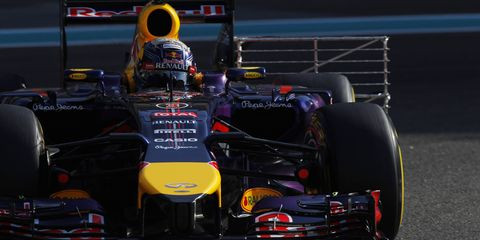 On Friday night, thieves drove a car through the front entrance at the Red Bull Racing factory before stealing more than 60 trophies.