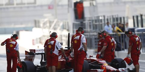 Ferrari's troubles have captured the attention of F1 team owner Gene Haas.