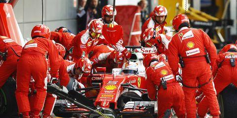 Ferrari Formula 1 driver Sebastian Vettel says despite recent setbacks, there is no need for the team to panic.