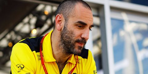 Renault's Cyril Abiteboul says that F1 had better change it's financial ways soon for face extinction.