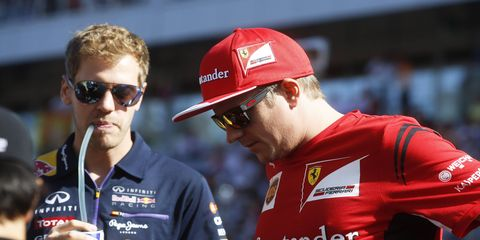In news that surprises absolutely nobody, Sebastian Vettel and Kimi Raikkonen are really, really rich.