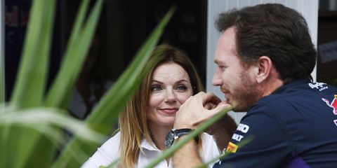 Red Bull F1 principal Christian Horner and Spice Girl Geri Halliwell Horner welcomed their first son over the weekend.
