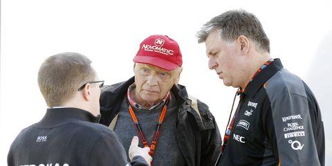 Former F1 driver and Ferrari non-executive chairman Niki Lauda was adamant that Ferrari was just better than Mercedes in Malaysia.