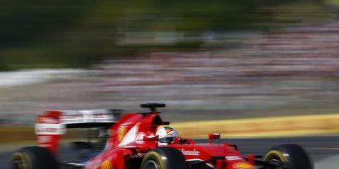 Sebastian Vettel won Sunday's Formula One race in Hungary.