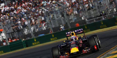 Red Bull's Daniel Ricciardo finished sixth in Australia. Red Bull management is not happy with the way Formula One is being governed.