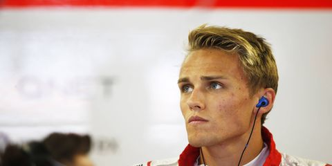 Max Chilton, who started the Formula One season with Marussia, apparently will be ending the campaign in Abu Dhabi with Caterham.