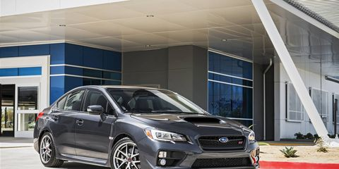 The Subaru WRX STI has always been notoriously expensive to insure. Switching to four- and five-door versions helped.