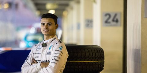 Pascal Wehrlein will drive for Manor F1 this season.