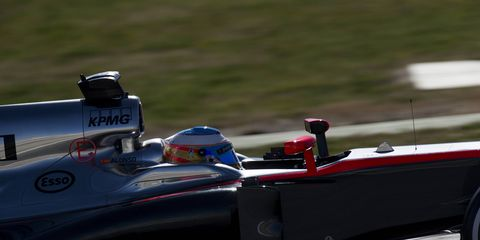 The FIA is still looking into the crash that sidelined McLaren driver Fernando Alonso.