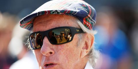 Jackie Stewart is working to be as successful off the track as he was on it as a championship F1 driver.