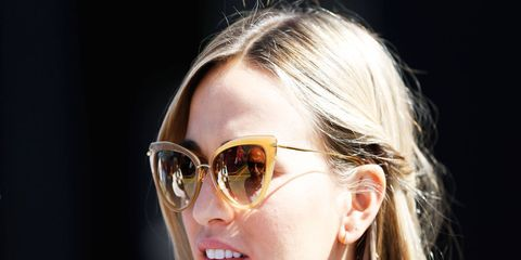 The closest former GP3 driver Carmen Jorda has gotten to an F1 seat is the seat of a simulator at Lotus.