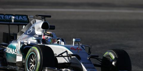 Mercedes Formula One team members say the new engines are louder.