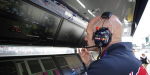 Chief technical officer Adrian Newey expects that Red Bull -- and everyone else -- will be chasing Mercedes and Ferrari once again in 2016.