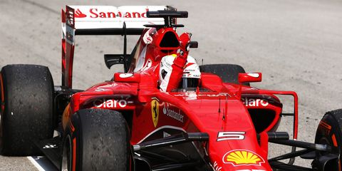 Sebastian Vettel shocked the Formula One world on Sunday with a thrilling victory at the Malaysian Grand Prix.