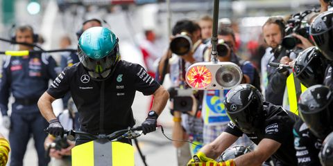 The FIA wants to make sure Formula One teams don't line up for a pit stop unless the car is actually coming in for service.