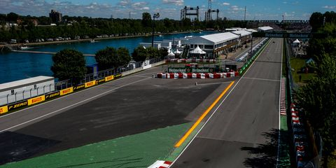 Circuit Gilles Villeneuve has hosted every Formula One Canadian Grand Prix since 1982.