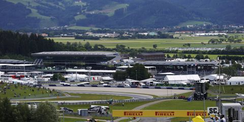 Formula One raced at the Red Bull Ring in Austria on Sunday.