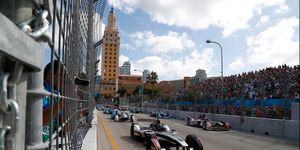 Miami played host to Formula E in 2015 and is in discussions to bring Formula 1 to the Florida city as early as October 2019.