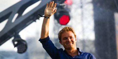 Nico Rosberg has maintained a sporadic presence in the Formula 1 paddock despite his November retirement.