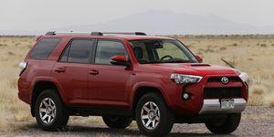 2015 Toyota 4Runner at White Sands Missile Range