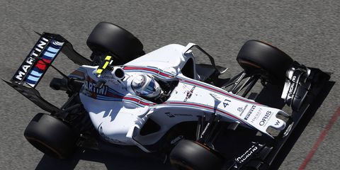 Susie Wolff makes her first Friday test appearance of the season on Friday in Barcelona.