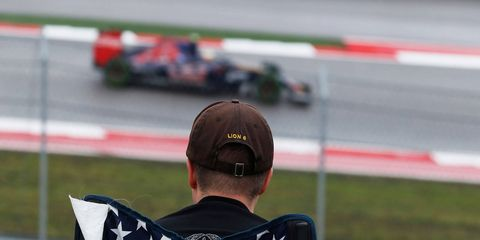 Formula One is on center stage at Circuit of the Americas in Austin, Texas, this weekend. Sunday's race will be broadcast live on NBC (3 p.m. ET).