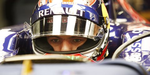 Max Verstappen, 17, is set to become the youngest driver to compete in a Formula One weekend.