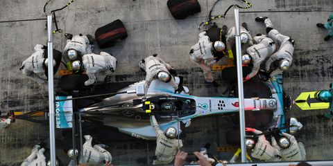 Nico Rosberg's poor race on Sunday cost him the chance to win an F1 championship.