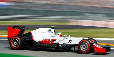 Esteban Gutierrez was a reserve driver at Ferrari before landing a spot at Haas F1 Team.